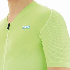 UYN Airwing Kurzarm Biking Shirt Herren gelb/schwarz